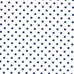 Petite Dots in Navy Fabric by the Yard | 100% Cotton-Fabric-Bold Bedding