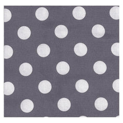 Vintage Gray Dottie Fabric by the Yard | 100% Cotton-Fabric-Bold Bedding