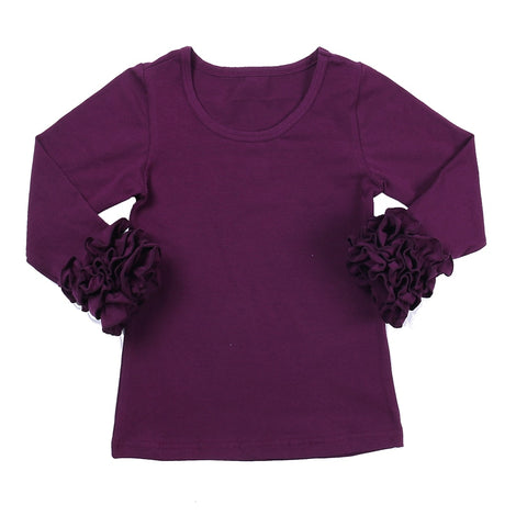 Plum Icing Long Sleeve Top - My Cutie Pye Boutique
