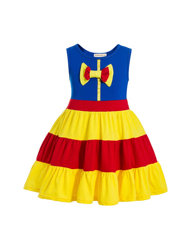 Snow White Ruffle Skirt Everyday Costume Dress - My Cutie Pye Boutique