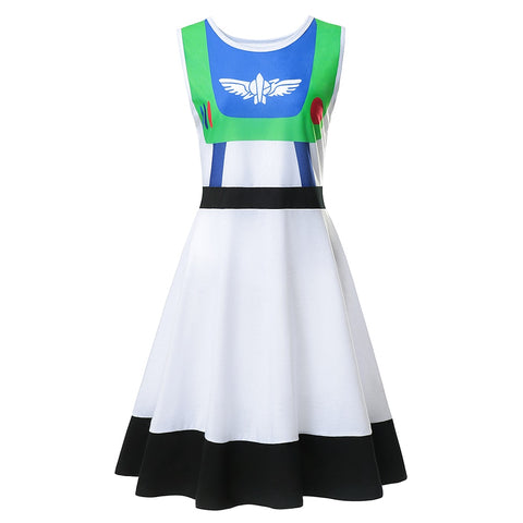 Buzz Lightyear Mommy and Me Women's Everyday Costume Dress