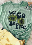 Let Go Be Free Screen Tee - My Cutie Pye Boutique