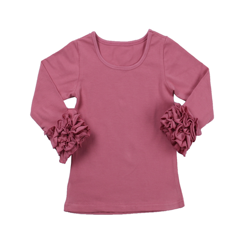 Rose Icing Long Sleeve Top - My Cutie Pye Boutique