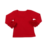 Red Icing Long Sleeve Top - My Cutie Pye Boutique