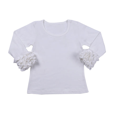 Ivory Icing Long Sleeve Top - My Cutie Pye Boutique