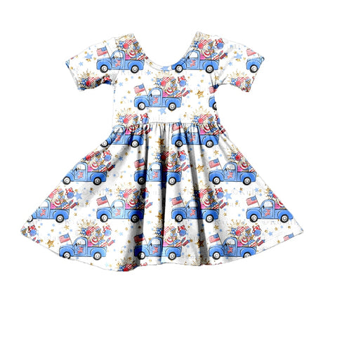 Pickup Parade Twirl Dress - My Cutie Pye Boutique