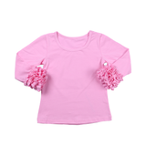 Light Pink Icing Long Sleeve Top - My Cutie Pye Boutique