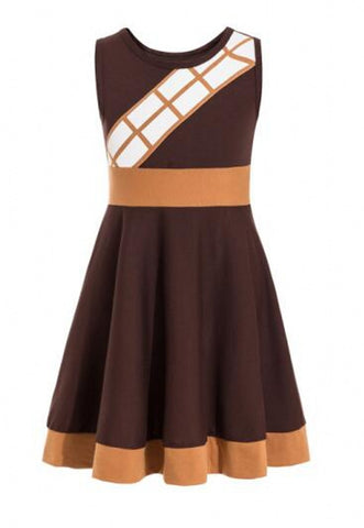 Chewbacca Everyday Costume Dress