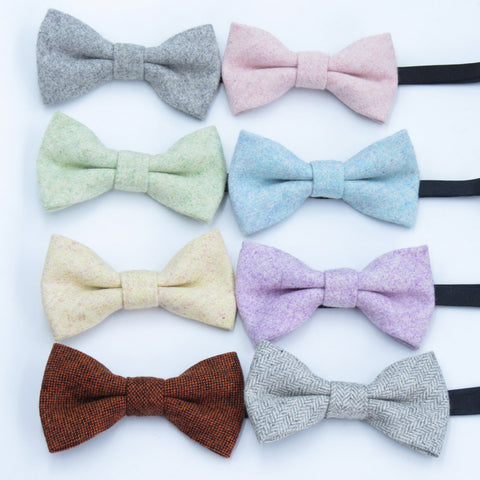 Boys Wool Bow Tie - My Cutie Pye Boutique