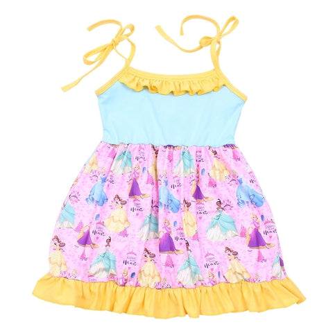 Listen to Your Heart Disney Princess Sundress - My Cutie Pye Boutique