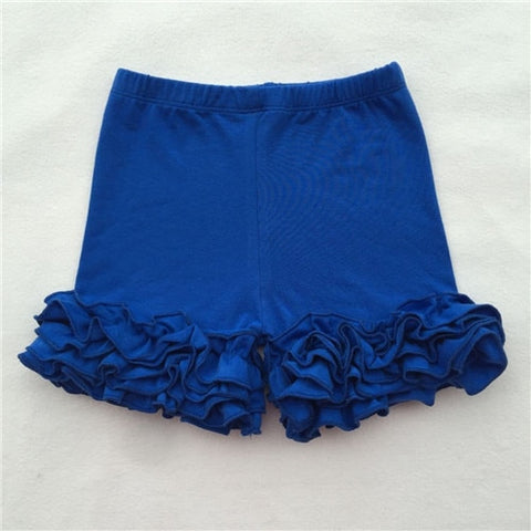 Royal Blue Icing Shorties - My Cutie Pye Boutique