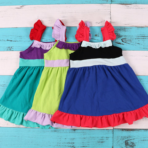 Princess Sundress Ariel Tinkerbell Snow Minnie or Rapunzel - My Cutie Pye Boutique