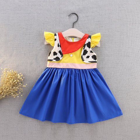 Woody Inspired Flutter Dress Costume - My Cutie Pye Boutique