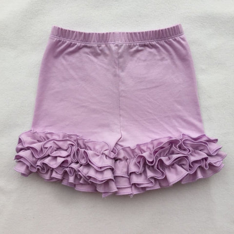 Lavender Icing Shorties - My Cutie Pye Boutique