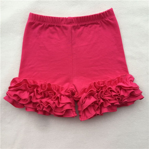 Hot Pink Icing Shorties - My Cutie Pye Boutique