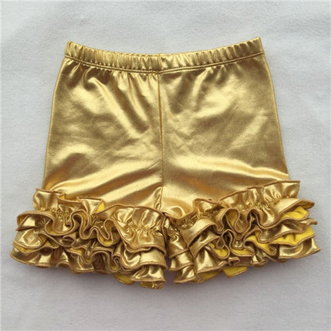 Gold Icing Shorties - My Cutie Pye Boutique