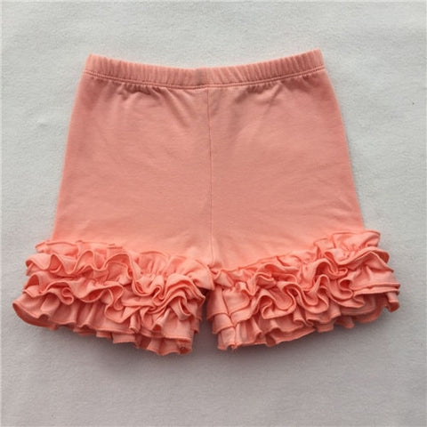 Peach Icing Shorties - My Cutie Pye Boutique