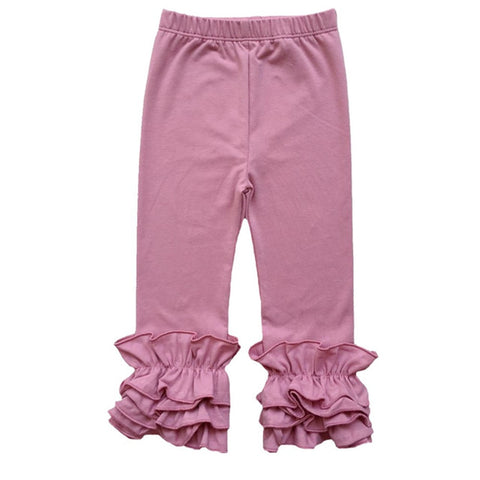 Rose Pink Icing Pants - My Cutie Pye Boutique