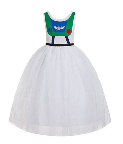 Buzz Light Year Tutu Dress Costume