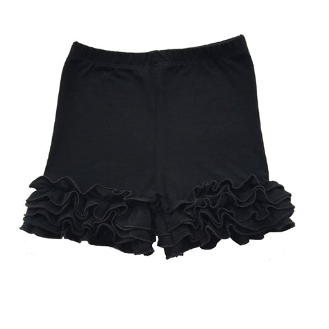 Black Icing Shorties - My Cutie Pye Boutique
