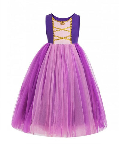 Rapunzel Tutu Costume Dress