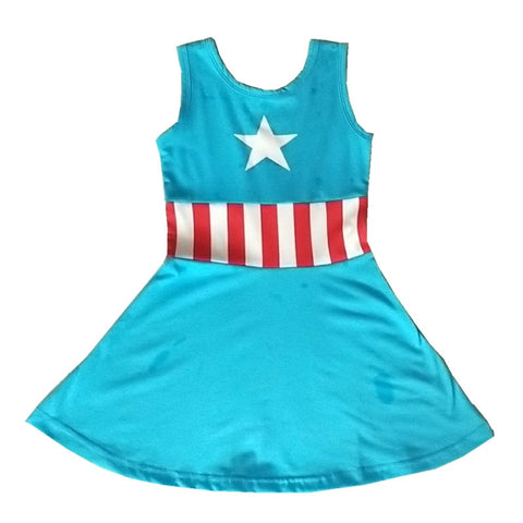 Captain America Mommy and Me Everyday Costume Dress