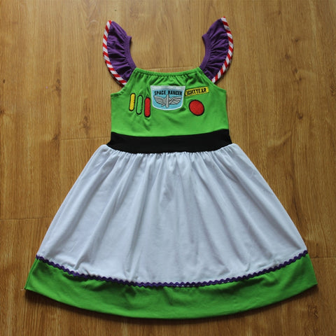 """Buzz"" Light Year Girls Toy Story Everyday Costume"