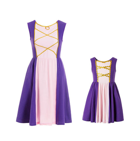 Rapunzel Mommy and Me Everyday Costume Dress