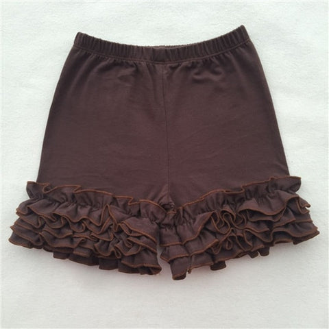 Brown Icing Shorties - My Cutie Pye Boutique