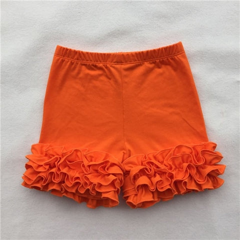 Orange Icing Shorties - My Cutie Pye Boutique