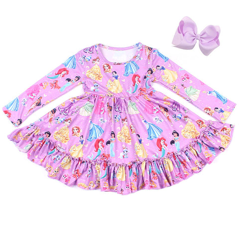 Princess Party Twirl Dress - My Cutie Pye Boutique