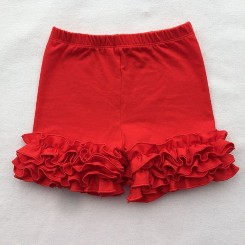 Red Icing Shorties - My Cutie Pye Boutique