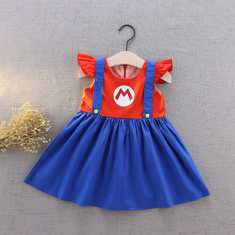Mario Inspired Flutter Dress Costume - My Cutie Pye Boutique