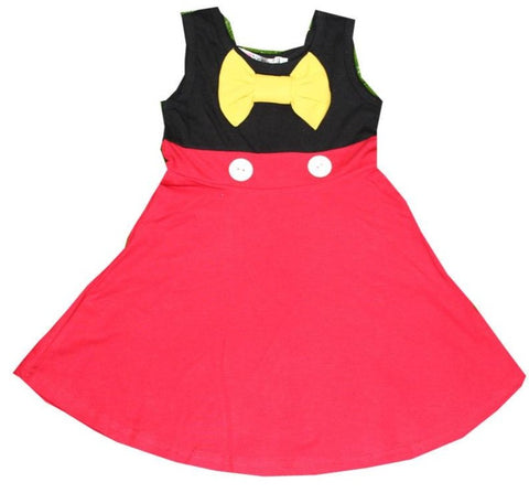 Mickey Mouse Mommy and Me Matching Everyday Costume Dress