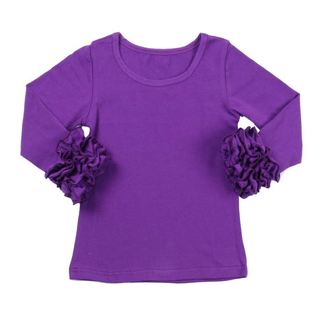 Purple Icing Long Sleeve Top - My Cutie Pye Boutique