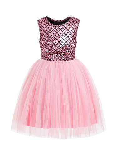 Pink Ariel Everyday Costume Dress - My Cutie Pye Boutique