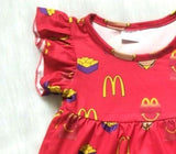 McDonalds Flutter and Shorties Outfit - My Cutie Pye Boutique