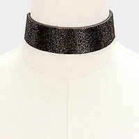 BLACK PARTY CHOKER