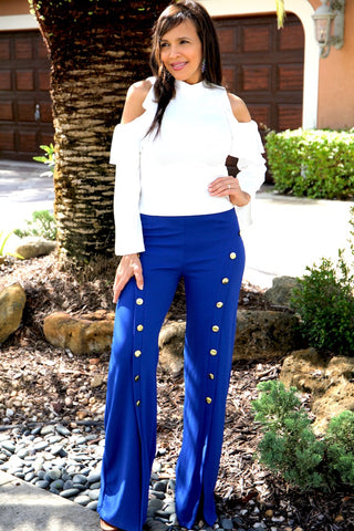 BLUE ROYAL LONG PANTS