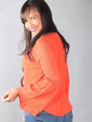 ORANGE BIBI TOP