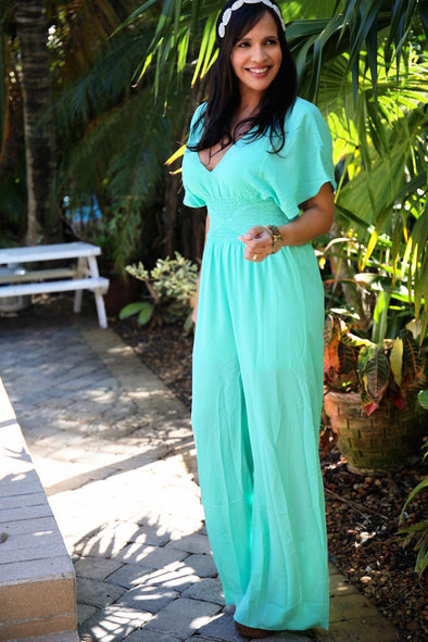 BLUE REYNA JUMPSUIT