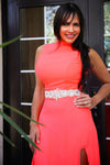ORANGE HOT NEON DRESS
