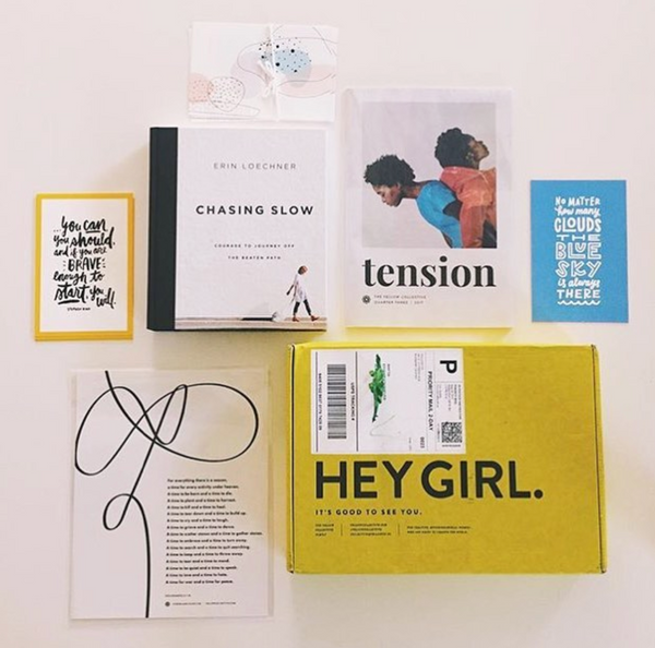 Copy of Yellow Co. Empowerment Box  / TENSION
