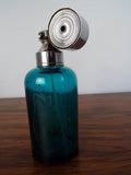 1930s Art Deco Marcel Franck Blue Perfume Bottle