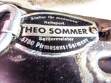 Vintage 1990s German Dressage Somero Saddle ~ Theo Sommers
