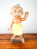 Vintage 1960s United Airlines Menehune of Hawaii Figure