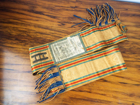 Antique Loyal Orange Lodge Ceremonial Sash