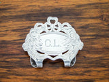 Antique Victorian Herbst Wassall Sterling Silver Money Clip