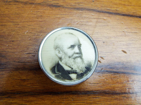 Antique Political Presidential Campaign Prohibition Badge