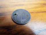 Antique Temperance Hardship Token ~ NY Merchants & Traders Coins
